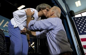 bidens kiss and secret crotch handshake