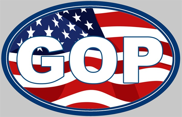 GOP_w_Flag_oval_sticker