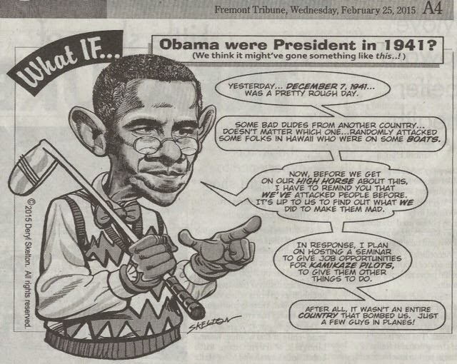 If Obama were prezi in 1941_Freemont