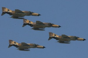 Iranian F4 Phantom Jets operating in Iraq