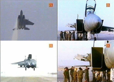 Nedivi Zivi piloted his F15 and landed it with only one wing 002