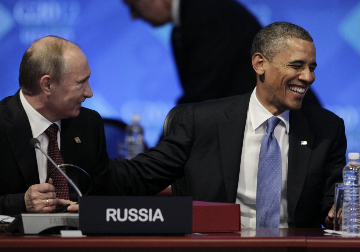Putin and Obama in 2012