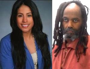 Marilyn Zuniga and Mumia Abu-Jamal