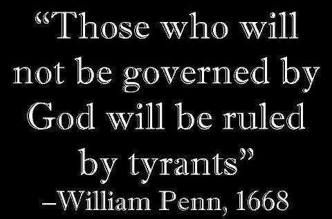God or tyrants