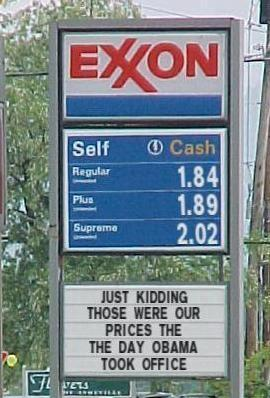 gas before obama