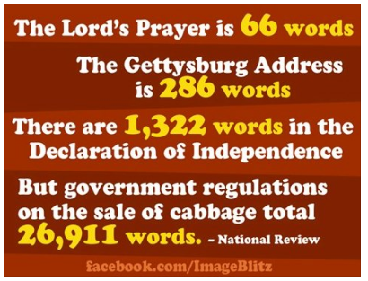 government regulates cabbage