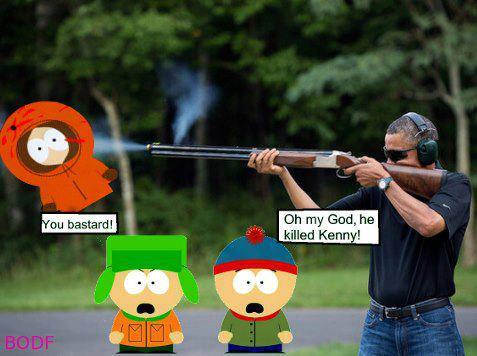 Obama killed Kenny