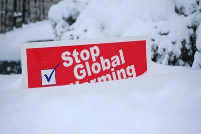global warming snow