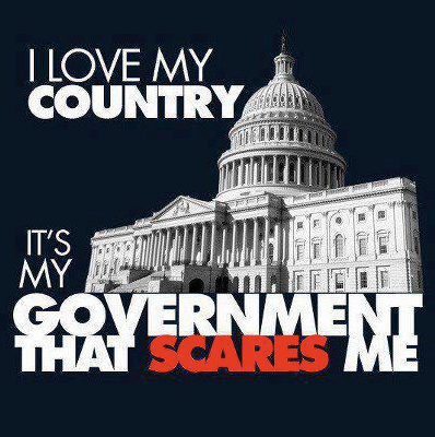 government scares me