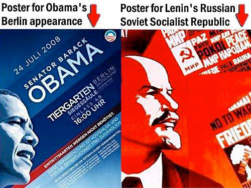 obama lenin logo