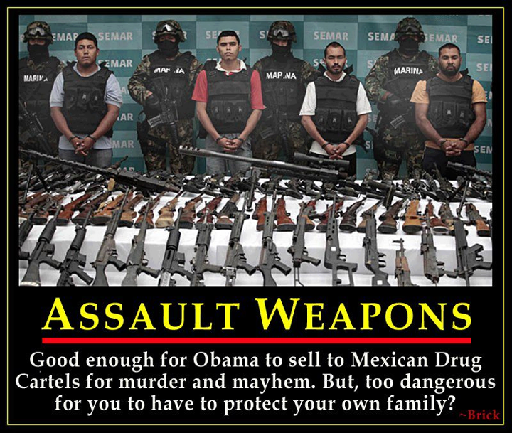 obama sold assault weapons