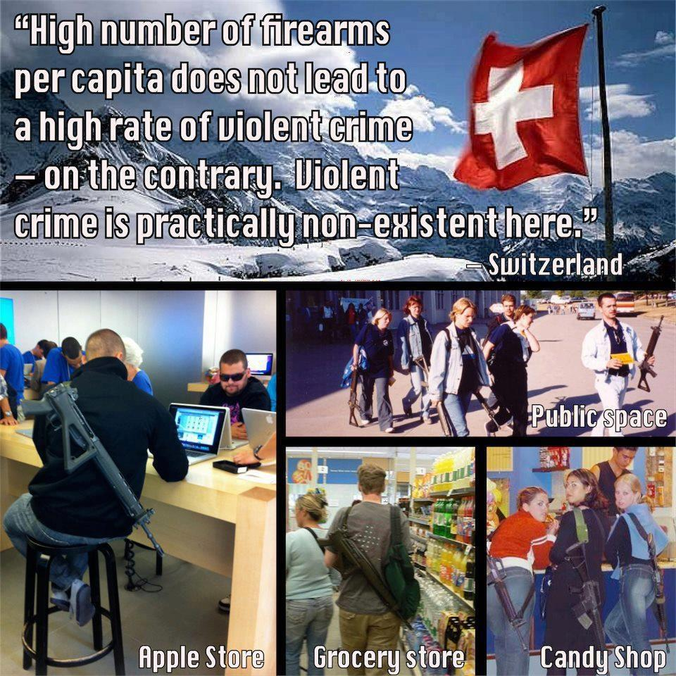 switzerland crime guns