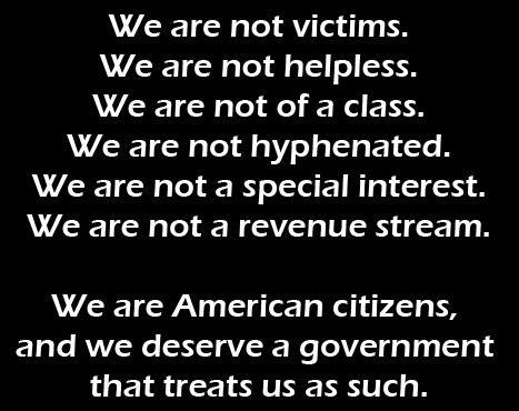 we are american citizens