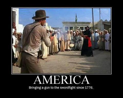 america gun fight