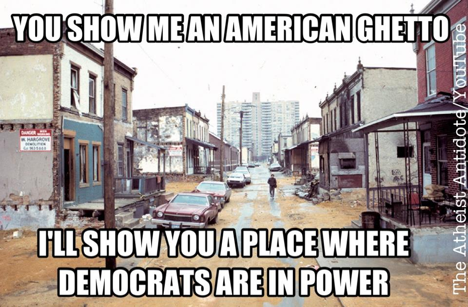 american ghetto democrat