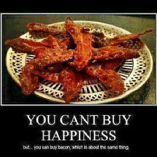 bacon happiness