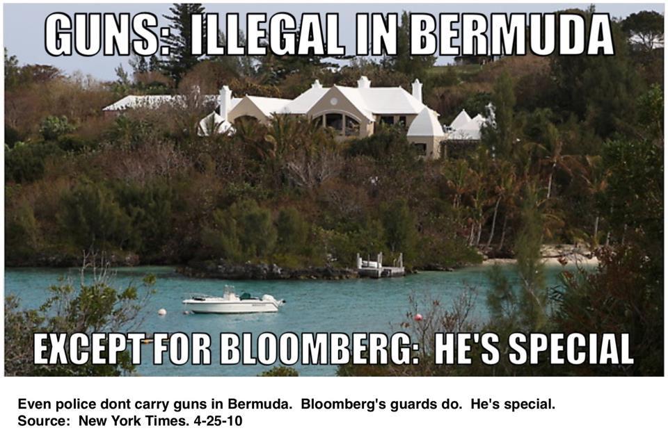 bermuda guns bloomberg