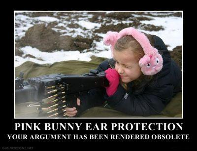 bunny ear protection