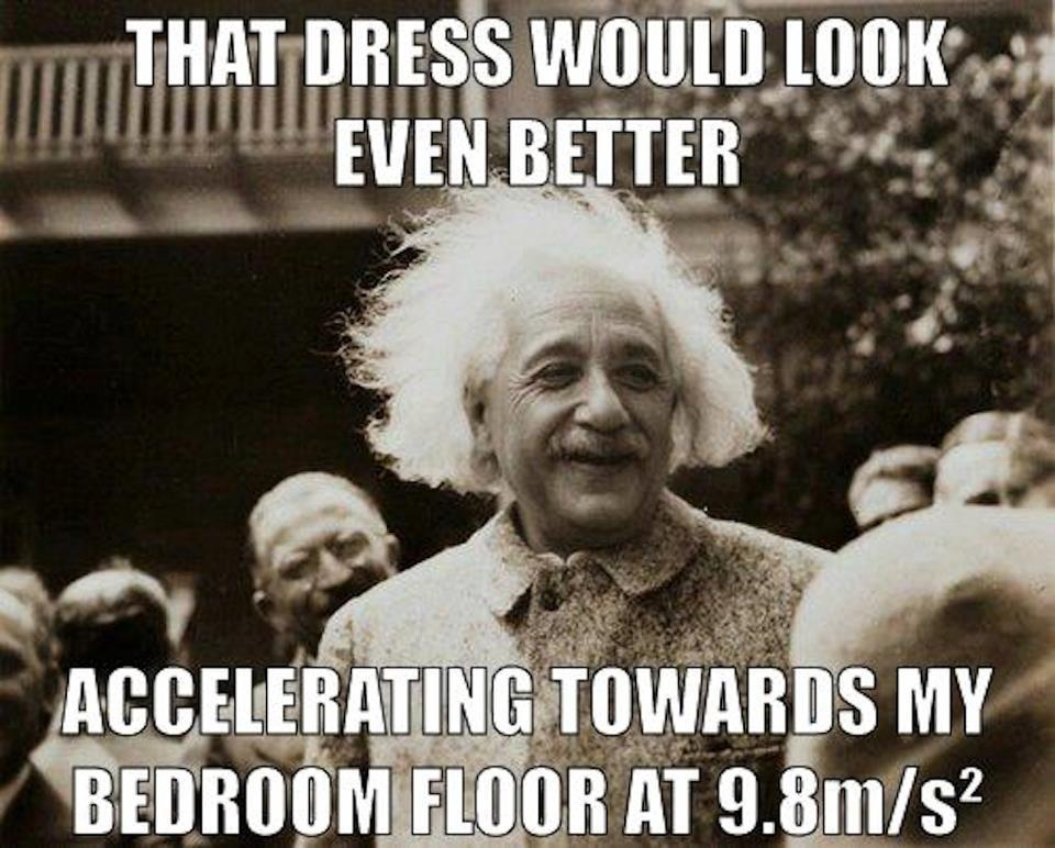 einstein pick up line