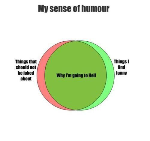 my sense of humor