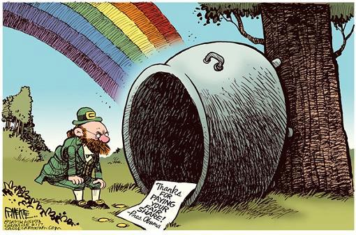 obama pot of gold