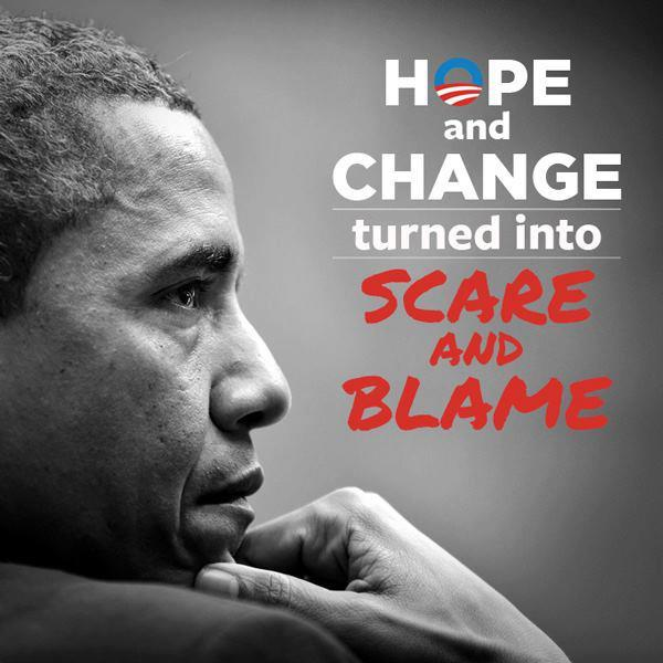 scare and blame