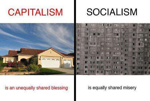 capitalism vs socialism fairness