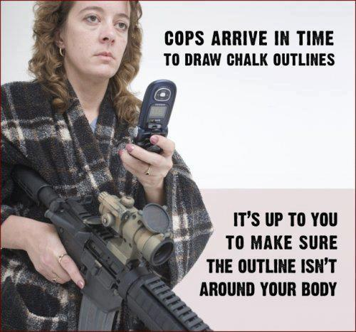 cops draw chalk