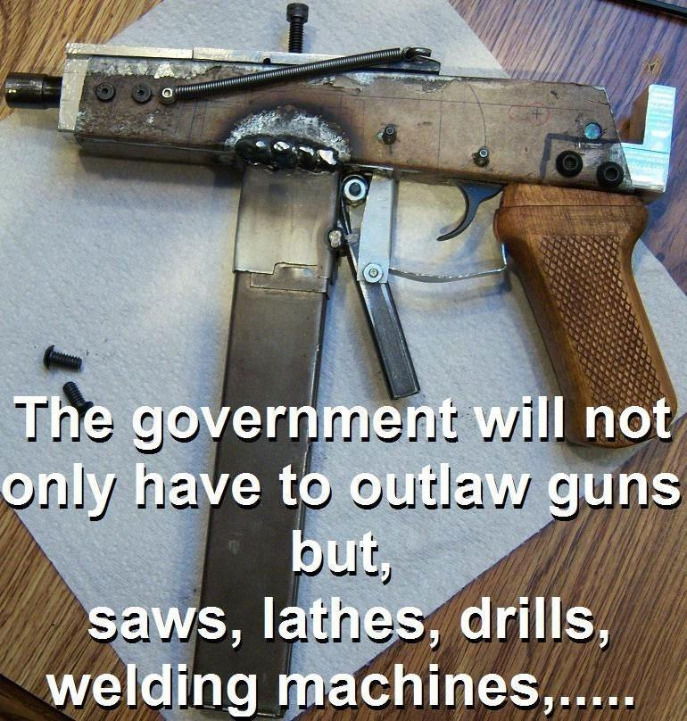 homemade guns