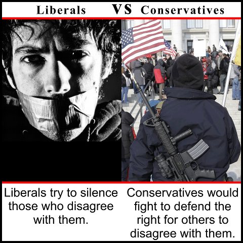 liberals vs conservatives