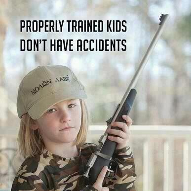 properly trained kids