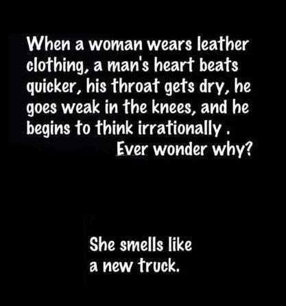 smells like new truck