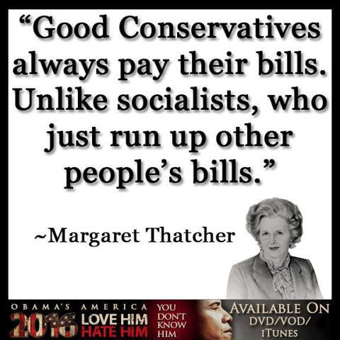 thatcher runnig up bills