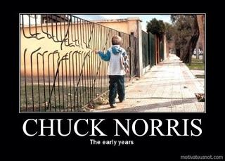 chuck norris the early yesrs