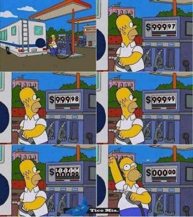 homer gas prices