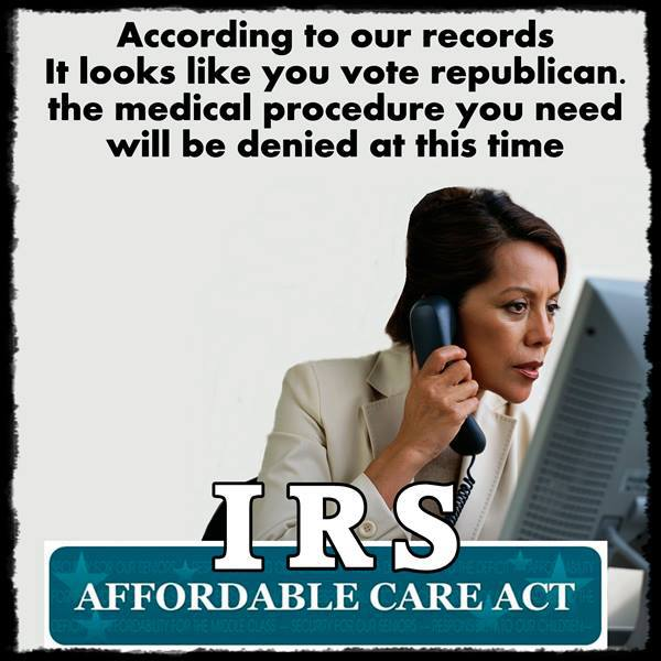 irs affordable care act