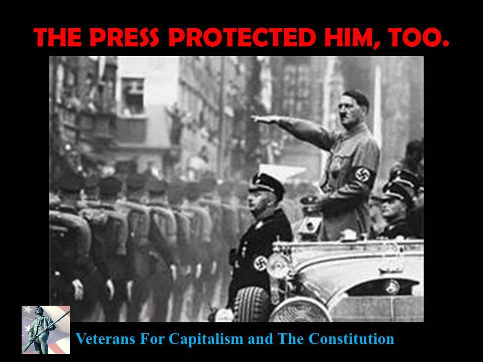 press protected Hitler