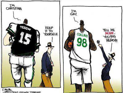 tebow vs gay