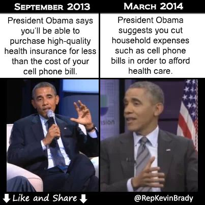 ObamaCare before and after