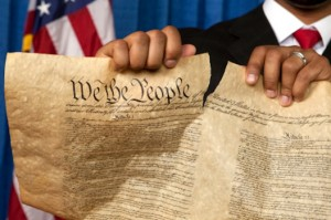 obama rips founding documents