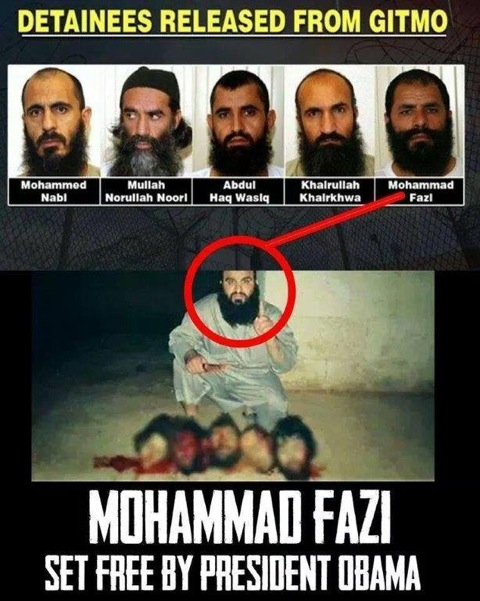 Mullah Mohammad Fazi proudly displays his beheading collection
