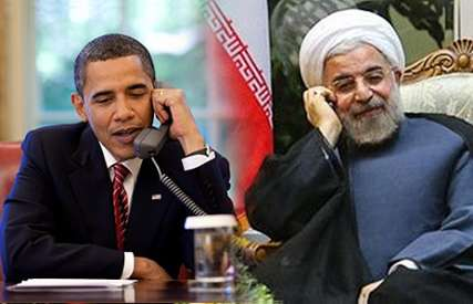 President Barack Obama of the United States and President Hassan Rouhani of Iran
