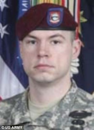 Staff Sergeant Kurt Curtiss, a 27-year-old father of two, who died in a firefighte on August 26, 2009