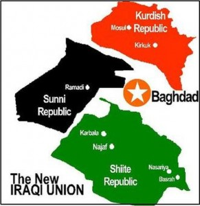 iraq broken up