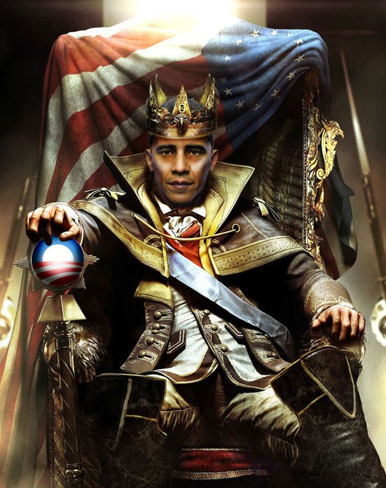 King Obama & his two court jesters
