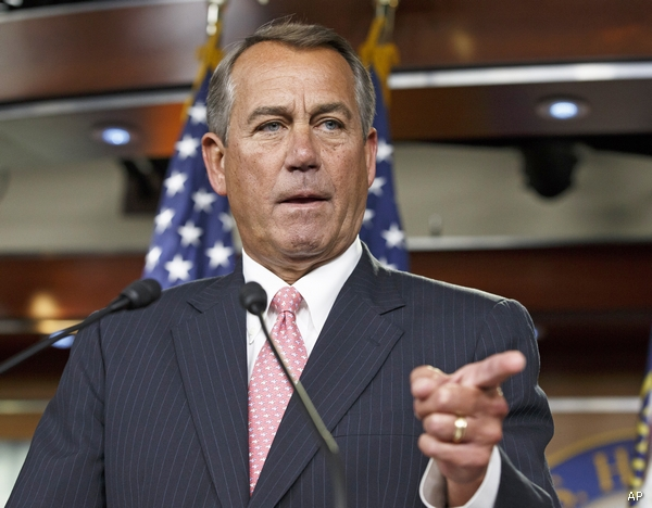 Speaker of the House, John Boehner, (R-OH)