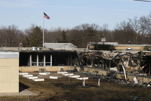 edison school burned down by janitors mistake