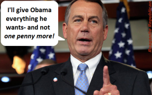 john boehner generous with taxpayer money