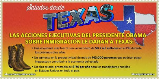 executive amnesty promotion in texas