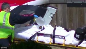 Houston home where 4 year old boy was stabbed and beaten by his mother_boy being airlifted 003